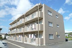 滋賀県甲賀市水口町虫生野の賃貸マンションの外観