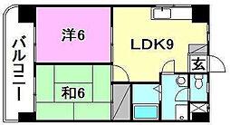 第五中村ビル[301 号室号室]の間取り