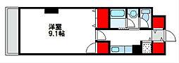 福間ステーションタワー[4階]の間取り