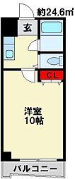 ロイヤルアミューズ[3階]の間取り