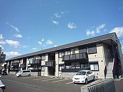 滋賀県草津市東矢倉2丁目の賃貸アパートの外観