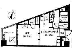 エクセル大山ハシモト[5階]の間取り
