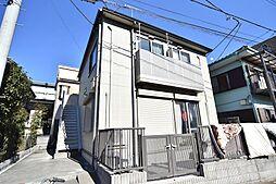 東京都府中市分梅町4丁目の賃貸アパートの外観