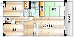 宮崎ビル[2階]の間取り