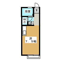 since2000A[1階]の間取り