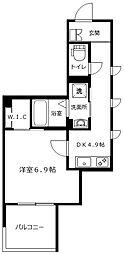 (仮称)港南中央マンション[301号室]の間取り