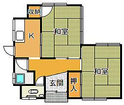 [一戸建] 鳥取県米子市旗ヶ崎9丁目 の賃貸【/】の間取り
