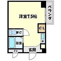 ハイムタケダT5[2階]の間取り