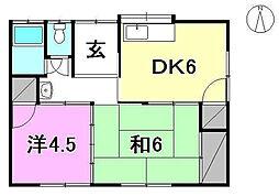 [一戸建] 愛媛県松山市余戸南2丁目 の賃貸【/】の間取り