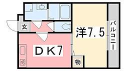 東雲Kマンション[304号室]の間取り