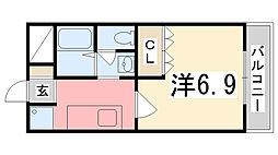 marimoco[103号室]の間取り