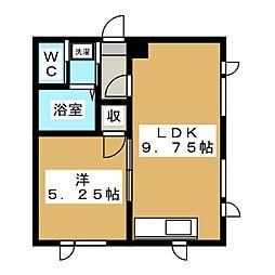 メゾンPure[1階]の間取り
