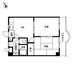 プレール東武練馬[209号室]の間取り