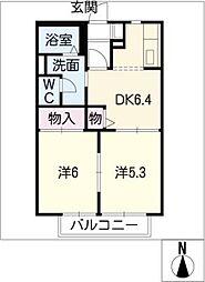 ソフィア 壱番館[1階]の間取り