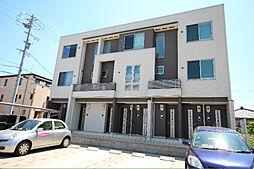 愛知県名古屋市中川区中郷5丁目の賃貸アパートの外観