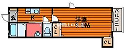 シャーメゾン佐久羅[2階]の間取り