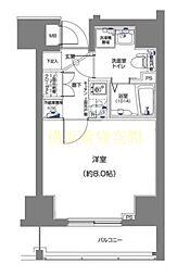 ディアレイシャスID横浜南[7階]の間取り
