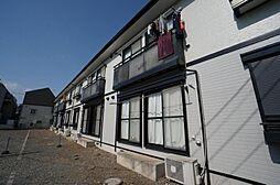 東京都調布市入間町1丁目の賃貸アパートの外観