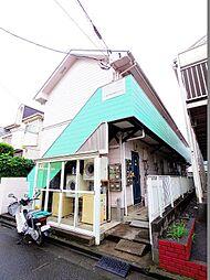 東京都東大和市仲原4丁目の賃貸アパートの外観