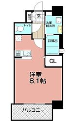 J-PLACE天神東[903号室]の間取り