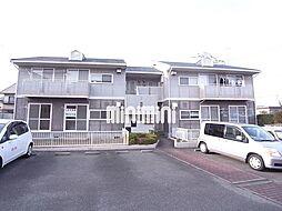 バイオレットハイツA棟[1階]の外観