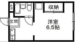 メゾン谷沢I[1階]の間取り