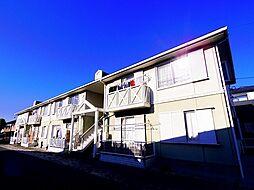 ベルビュー上安松A棟[2階]の外観