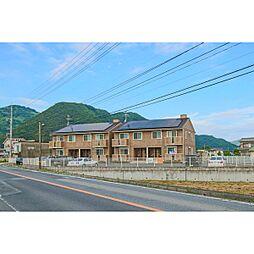 岡山県赤磐市円光寺の賃貸アパートの外観