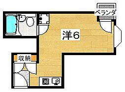 マンション・ベガ[6階]の間取り