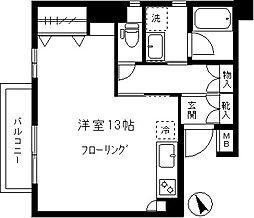 東京都世田谷区世田谷4丁目の賃貸マンションの間取り