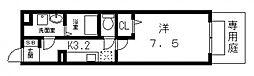 エスポワールB[105号室号室]の間取り