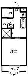 コーポトミタカ[103号室]の間取り