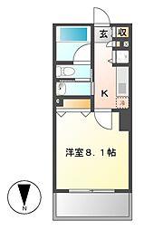 マイアトリア名駅[3階]の間取り