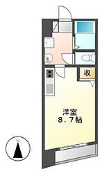葵ビル[5階]の間取り