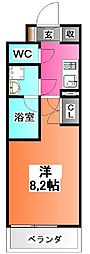 フュージョナル赤羽EAST[6階]の間取り