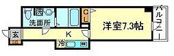 Osaka Metro御堂筋線 梅田駅 徒歩10分の賃貸マンション 9階1Kの間取り