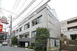 東京都目黒区自由が丘2丁目の賃貸マンションの外観