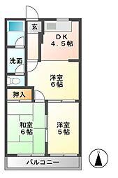 サンテラスNAWAIII[2階]の間取り