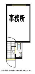 あやめマンション(事務所)[1階]の間取り