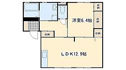 シュロス赤坂 積水ハウス施工[1階]の間取り