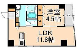 東京凱捷ビル[6階]の間取り