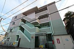 福岡県北九州市八幡東区山王1丁目の賃貸マンションの外観