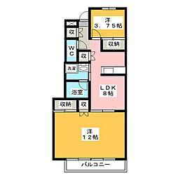 協和第2ビル[2階]の間取り