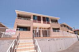 兵庫県神戸市西区伊川谷町潤和字西山ノ上の賃貸アパートの外観