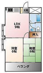 CoLaBo阪神西宮[5階]の間取り