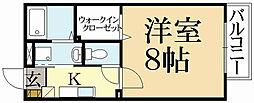 ルレールfII[1階]の間取り