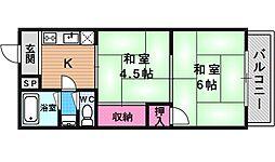 大黒屋マンション[305号室号室]の間取り