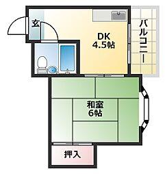 グランドハイツ正覚寺[2階]の間取り