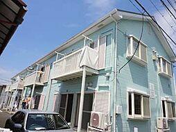 神奈川県大和市中央の賃貸アパートの外観