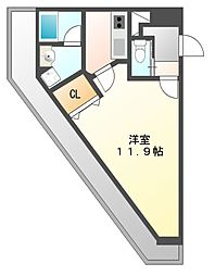アマーレ東海通[5階]の間取り
